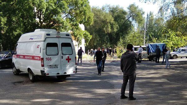 Krımda terror aktı - Sputnik Azərbaycan