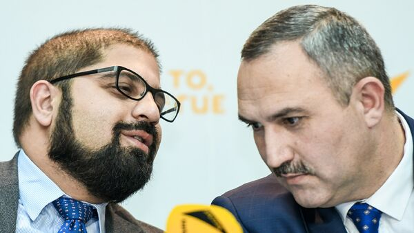 Пресс-конференция на тему Что изменится в общественном транспорте после выступления президента - Sputnik Азербайджан