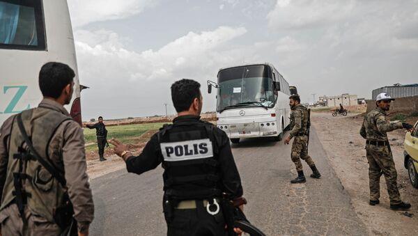 Suriyada polis - Sputnik Azərbaycan