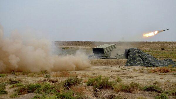Ракетные и артиллерийские соединения ВС Азербайджана - Sputnik Азербайджан