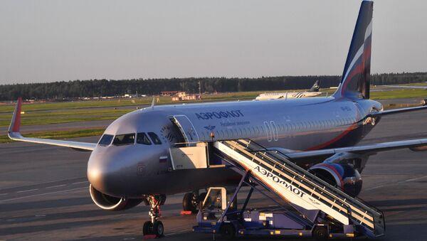 Airbus A320 təyyarə - Sputnik Azərbaycan