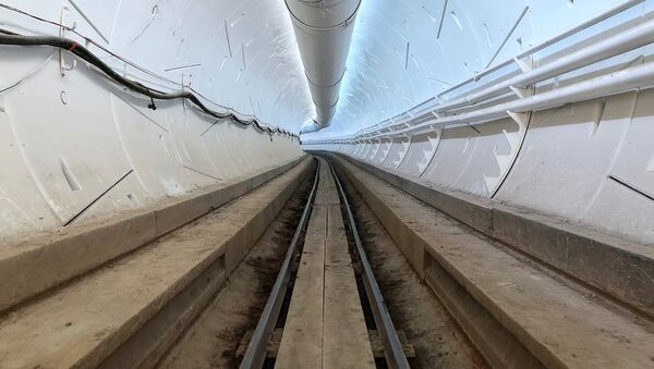 İlk yeraltı sürət tuneli - Sputnik Azərbaycan