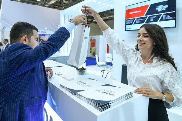 24-я Азербайджанская международная выставка Строительство - Sputnik Азербайджан