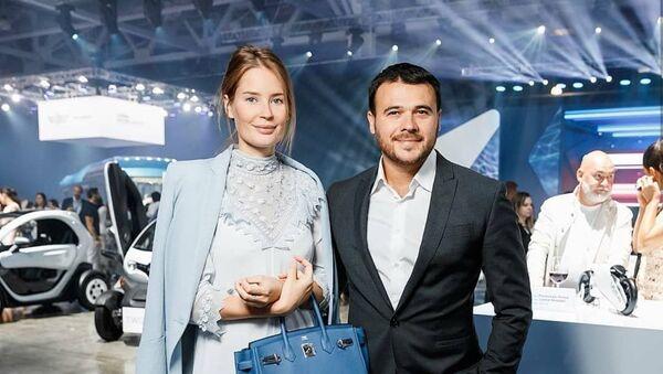 Эмин Агаларов и Алена Гаврилова - Sputnik Азербайджан