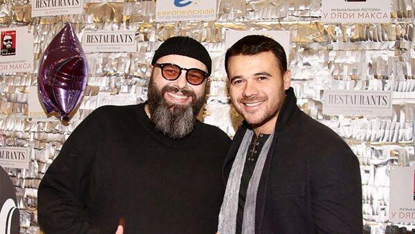 Maksim Fadeyev və Emin Ağalarov  - Sputnik Azərbaycan