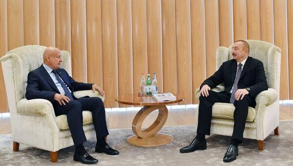 İlham Əliyev ISESCO-nun baş direktoru ilə görüşüb - Sputnik Azərbaycan