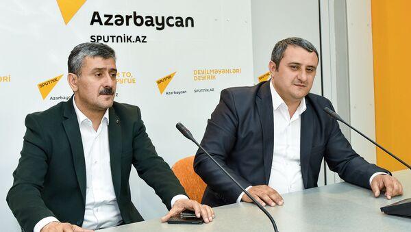 Братья Интигам и Эхтирам Рустамовы, фото из архива - Sputnik Азербайджан