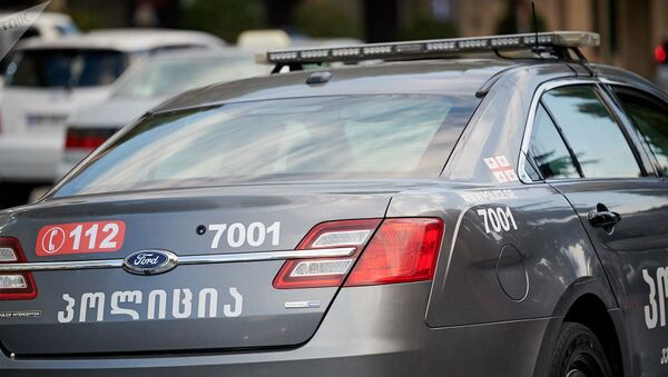 Автомобиль патрульной полиции Грузии - Sputnik Азербайджан