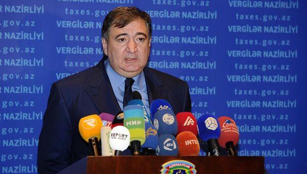 Vergilər naziri Fazil Məmmədov - Sputnik Azərbaycan