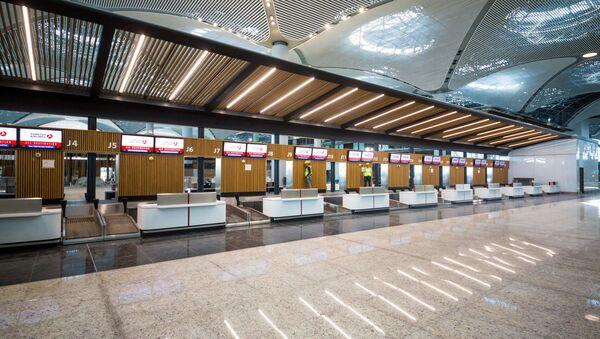 Новый аэропорт Стамбула - Sputnik Азербайджан