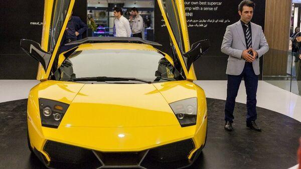 """İranda hazırlanan """"Lamborghini"""" - Sputnik Azərbaycan"""