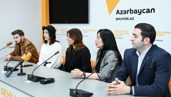 Пресс-конференция на тему Итоги джазового фестиваля в Баку: в чем успех и чем фестиваль запомнился - Sputnik Азербайджан