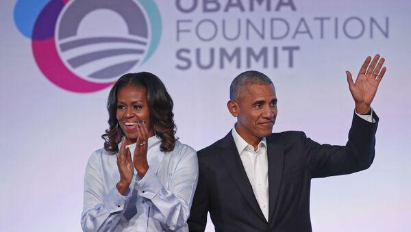 Барак и Мишел Обама - Sputnik Азербайджан