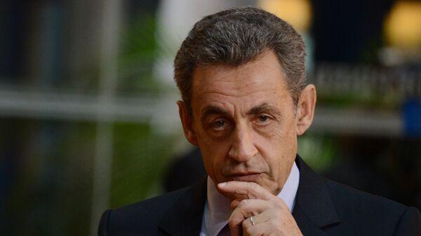 Fransanın keçmiş prezidenti Nikolya Sarkozi - Sputnik Azərbaycan