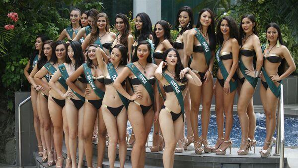 Участницы конкурса Мисс Земля - Sputnik Азербайджан