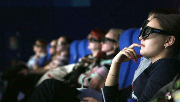 Зрители в кинозале - Sputnik Азербайджан