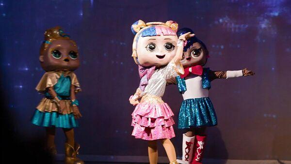 Шоу для всей семьи Куклы L.O.L - сверкай и веселись  - Sputnik Азербайджан