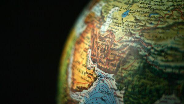 Карта мира, фото из архива - Sputnik Азербайджан