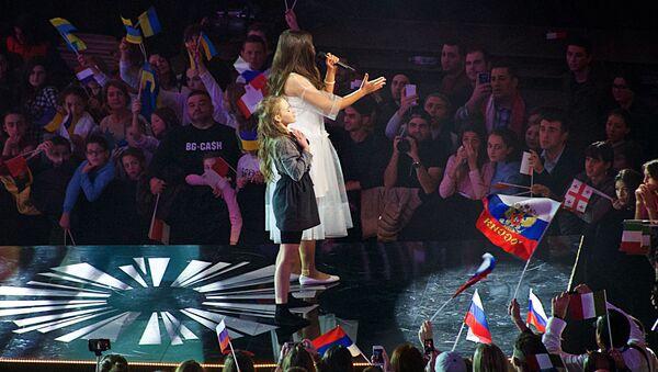 Финал конкурса Детское Евровидение - 2017 в Тбилиси - Sputnik Азербайджан