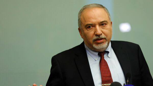 Aviqdor  Liberman - Sputnik Azərbaycan