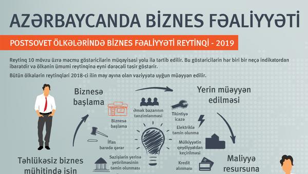 Azərbaycanda biznes fəaliyyəti - Sputnik Azərbaycan