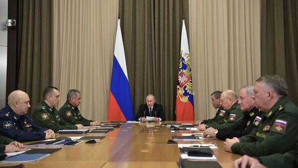 Vladimir Putin - Sputnik Azərbaycan