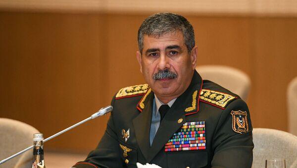 Müdafiə naziri, general-polkovnik Zakir Həsənov - Sputnik Azərbaycan
