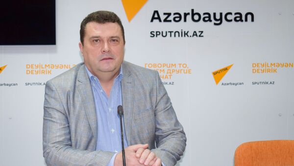 Председатель Союза журналистов России Владимир Соловьев - Sputnik Азербайджан