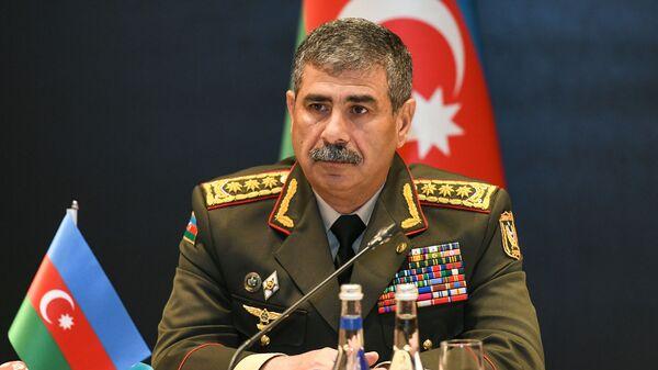 Müdafiə naziri, general-polkovnik Zakir Həsənov - Sputnik Азербайджан