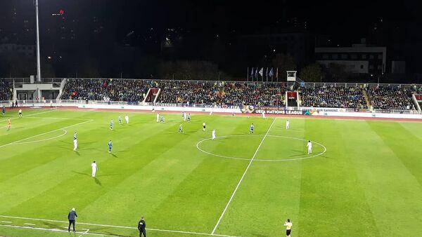 Футбольный матч между сборными Косово и Азербайджана - Sputnik Азербайджан