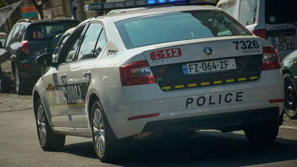 Gürcüstan polisi - Sputnik Азербайджан