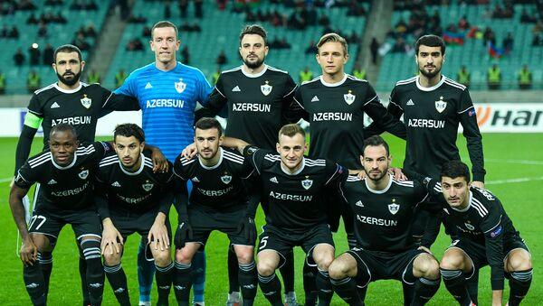 Футбольный матч Карабах-Спортинг. Бакинский олимпийский стадион, 29 ноября 2018 года - Sputnik Азербайджан
