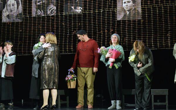 Спектакль А.Л.Ж.И.Р. на сцене Азербайджанского государственного русского драматического театра - Sputnik Азербайджан