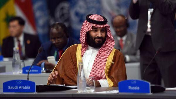 Принц Саудовской Аравии Мухаммед ибн Салман Аль Сауд - Sputnik Azərbaycan
