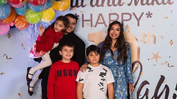 Народный артист Азербайджана Эмин Агаларов отметил десятилетие своих сыновей Али и Микаила Агаларовых в Баку - Sputnik Азербайджан