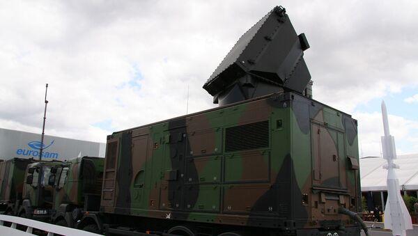Радиолокационный модуль SAMP/T наземной системы ПВО - Sputnik Азербайджан