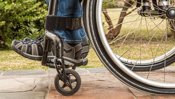 Инвалидная коляска. Архивное фото - Sputnik Азербайджан