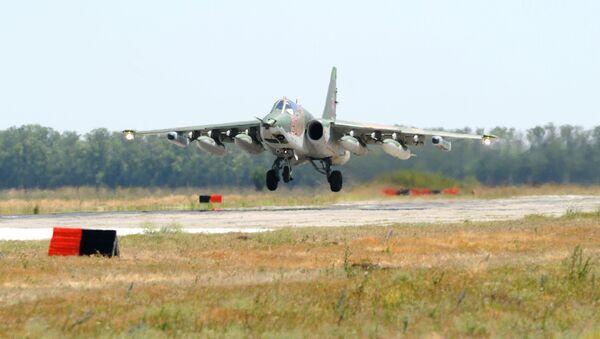 Штурмовик Су-25 - Sputnik Azərbaycan