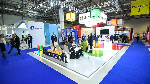 24-я Азербайджанская Международная Выставка и Конференция Телекоммуникации, Инновации и Высокие Технологии - Sputnik Азербайджан