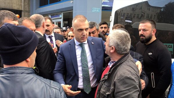 Начальник городской полиции города Ризе Алтуг Верди - Sputnik Azərbaycan