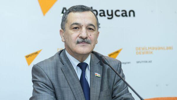 Заместитель председателя комитета Милли Меджлиса Айдын Мирзазаде - Sputnik Азербайджан