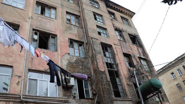 Nərimanov rayonu Mayakovski küçəsi, 8/9 ünvanında yerləşən yataqxana - Sputnik Азербайджан