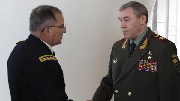 Начальник Генштаба России встретился в Баку с Верховным главнокомандующим объединенными вооруженными силами НАТО - Sputnik Азербайджан