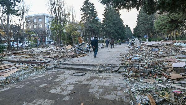 Снос объектов в парке Ататюрк - Sputnik Азербайджан