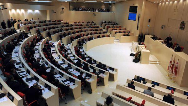 Парламент Грузии - Sputnik Азербайджан