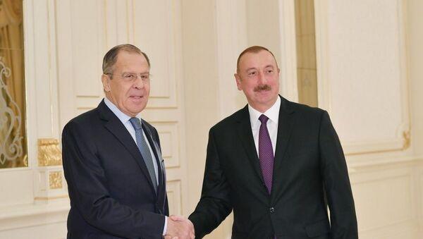Президент Ильхам Алиев принял министра иностранных дел России - Sputnik Азербайджан