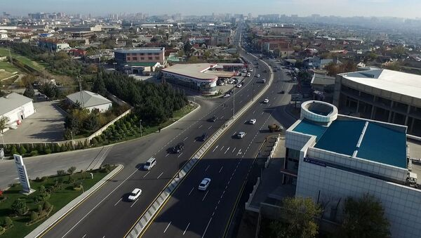 Перестройка проспекта Бабек - Sputnik Азербайджан