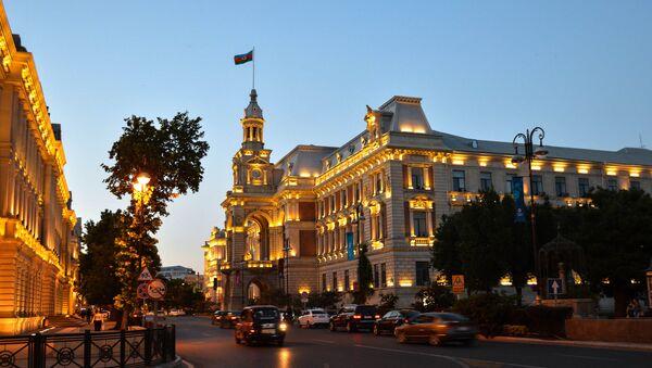 Здание Исполнительной власти Баку, фото из архива - Sputnik Азербайджан