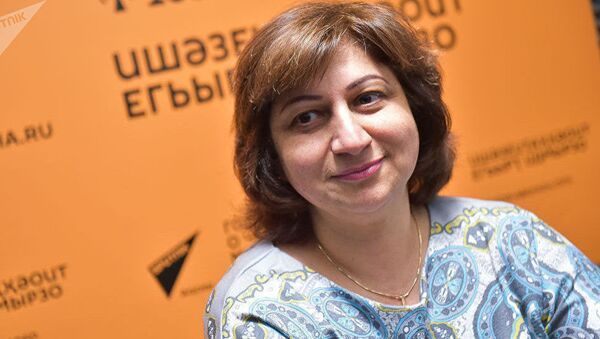 Психолог Анжела Ладария - Sputnik Азербайджан