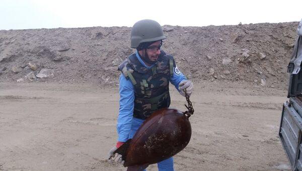 Саперы ANAMA за работой - Sputnik Азербайджан